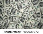 one hundred dollars | Shutterstock . vector #409033972