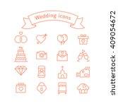 wedding vector icons