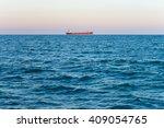 Sea View. Panorama Of The Sea...