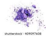 crushed eyeshadow isolated on...   Shutterstock . vector #409097608