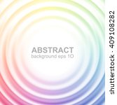 abstract colorful rippled... | Shutterstock .eps vector #409108282