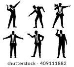 vector illustration of a six... | Shutterstock .eps vector #409111882