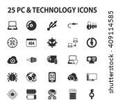 computer  technology  pc 25... | Shutterstock . vector #409114585