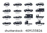 car type and model objects... | Shutterstock .eps vector #409155826