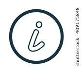 vector illustration of info icon