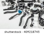 car parts on a gray background | Shutterstock . vector #409218745