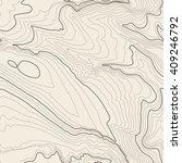 tileable topographic map... | Shutterstock .eps vector #409246792