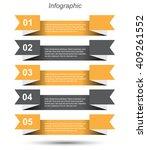 modern design info graphic... | Shutterstock .eps vector #409261552