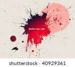 ink splash   Shutterstock .eps vector #40929361