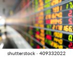 blurred image of stock market... | Shutterstock . vector #409332022