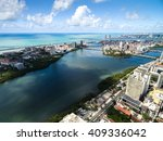 aerial view of recife ... | Shutterstock . vector #409336042