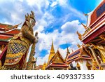 ramayana giant buddha temple in ... | Shutterstock . vector #409337335