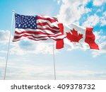 3d illustration of united... | Shutterstock . vector #409378732