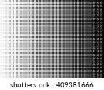 abstract halftone logo design... | Shutterstock .eps vector #409381666
