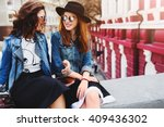 close up  summer lifestyle... | Shutterstock . vector #409436302