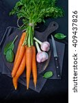 carrots  celery and other... | Shutterstock . vector #409437826