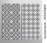 black and white vertical... | Shutterstock .eps vector #409443805
