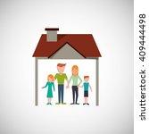 family design  relationship and ...   Shutterstock .eps vector #409444498