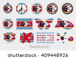 many different styles of flag... | Shutterstock . vector #409448926