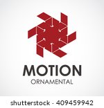 motion ornamental of decoration ...   Shutterstock .eps vector #409459942
