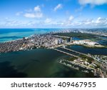 aerial view of recife  state of ... | Shutterstock . vector #409467955