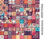 seamless pattern. vintage... | Shutterstock .eps vector #409475566