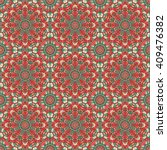 vector seamless pattern.... | Shutterstock .eps vector #409476382