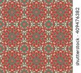 vector seamless pattern.... | Shutterstock .eps vector #409476382