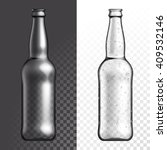 vector bottle. beer bottle.... | Shutterstock .eps vector #409532146