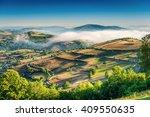 Foggy Landscape Galicia Spain