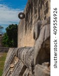 Small photo of Chichen Itza: Mayan ruins, Mesoamerican ballgame, Yucatan Mexico