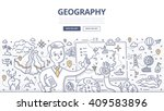 doodle vector illustration of... | Shutterstock .eps vector #409583896