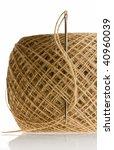 macro of needle in thread clew... | Shutterstock . vector #40960039