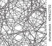 circle pattern. seamless vector ... | Shutterstock .eps vector #409612732