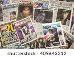 london  uk. 22th april  2016...   Shutterstock . vector #409643212