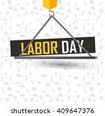 illustration for labor day | Shutterstock .eps vector #409647376