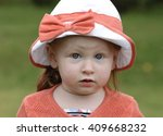 cute toddler in a part | Shutterstock . vector #409668232