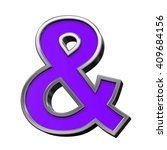 and sign from violet with... | Shutterstock . vector #409684156