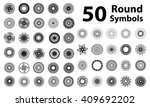 set of spirograph elements. 50...
