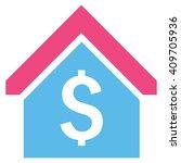 loan mortgage vector icon.... | Shutterstock .eps vector #409705936