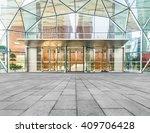corporate building entrance  | Shutterstock . vector #409706428