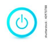 blue start button   Shutterstock .eps vector #40970788