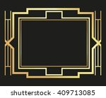 flat illustration about gatsby... | Shutterstock .eps vector #409713085