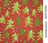 christmas pattern | Shutterstock .eps vector #40975354
