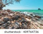 island beach of thailand  | Shutterstock . vector #409764736
