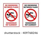 No Swimming Waring