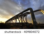 valves and piping | Shutterstock . vector #409804072