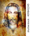 Jesus Christ Painting With...