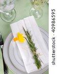 Daffodil Table Settings....