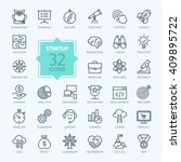 outline web icon set   start up ... | Shutterstock .eps vector #409895722